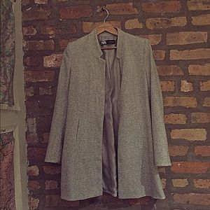 Zara Herringbone Jacket